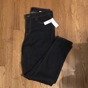 Old Navy denim rockstar jeans super skinny 12